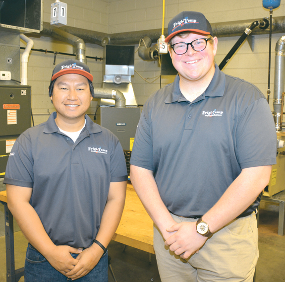 VGCC students blaze trail in apprenticeship program