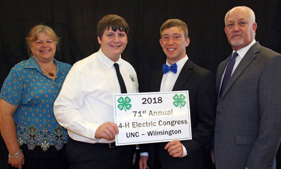 <i>Two local 4-H'ers attend Electric Congress at UNC</i>