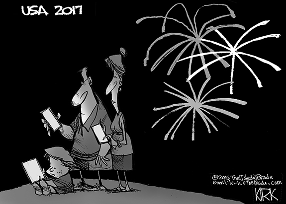 Editorial Cartoon: 4th