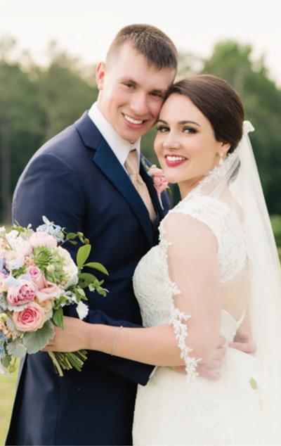 <i>Wedding vows exchanged</i>