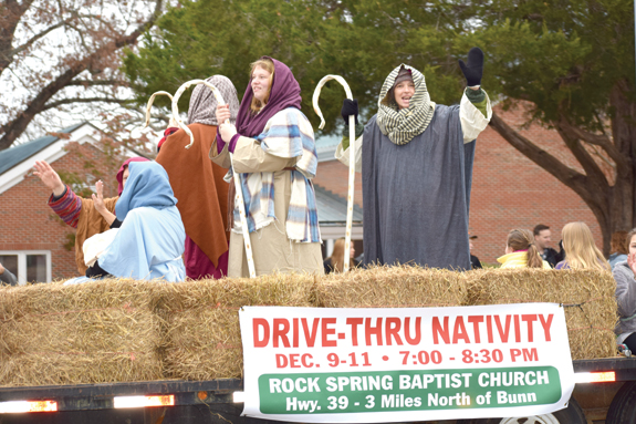 Franklin County Christmas parade, pics 1