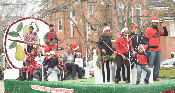 <i>Louisburg's parade helps usher in the season, 2</i>