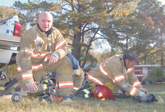 <i>'Live burn' training helps firefighters hone skills</i>