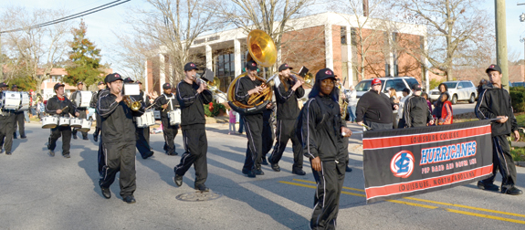 Parades mark beginning of Christmas season, 6