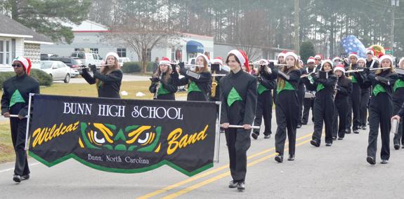 Bunn and Alert host Christmas parades! 1