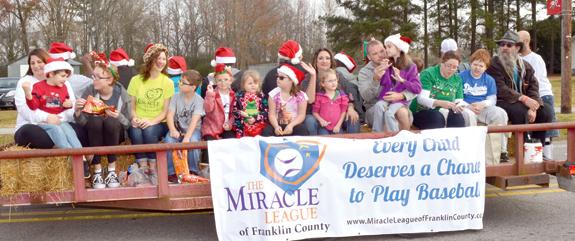 Bunn and Alert host Christmas parades! 2