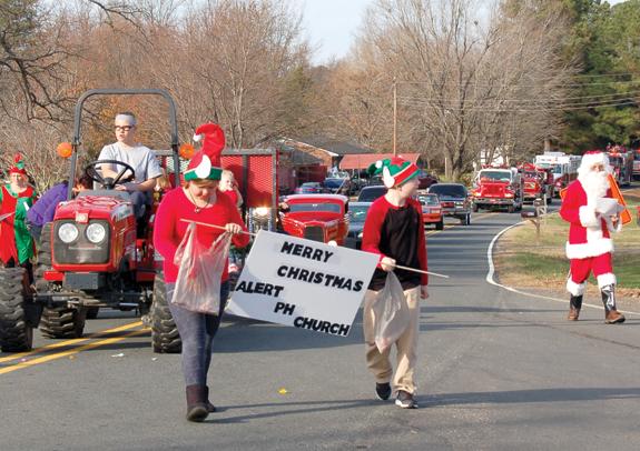 Bunn and Alert host Christmas parades! 5