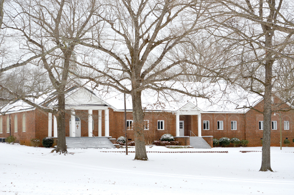 Wood Baptist Church: 'Slice of heaven' for 100 years!