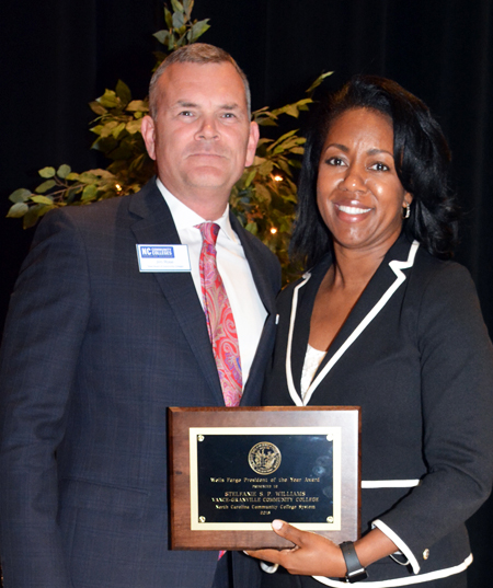 <i>VGCC board honors 'president of year' award winner</i>
