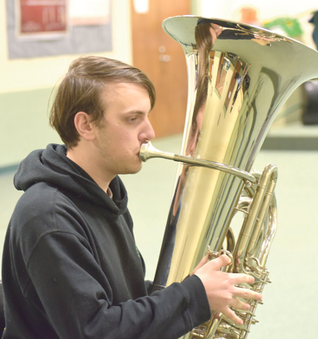 <i>BHS senior picked for all-state band</i>