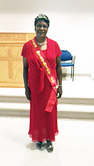 <i>Sandra Alston is Miss OES</i>