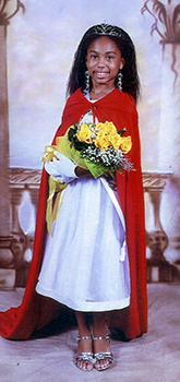 <i>Young miss is crowned</i>