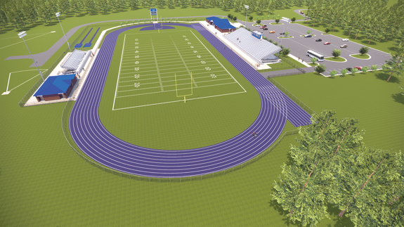 <i>New LHS athletic complex nearing bid stage</i>
