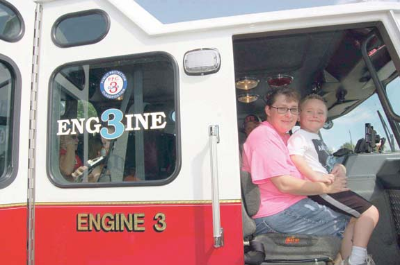 <i>Fun event stresses fire safety, pics 3</i>