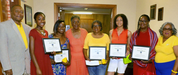<i>Five local ladies receive scholarships from sorority</i>