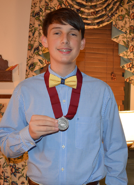 <i>Louisburg area student earns Duke TIP honor</i>