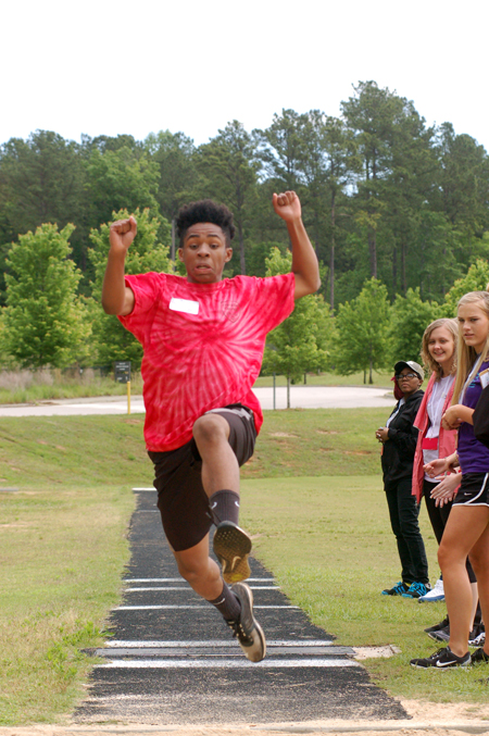 <i>Very Special Olympians test their skills</i>