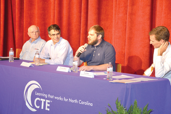<i>Recent VGCC grad featured in career pathways talks</i>