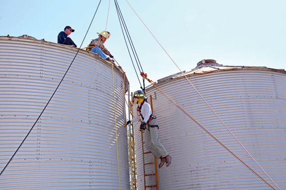 <i>Ready to rescue!</i><br>VGCC, Justice VFD team up to train for farm emergencies