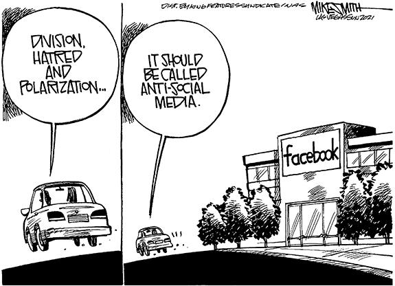Editorial Cartoon: Anti-Social Media