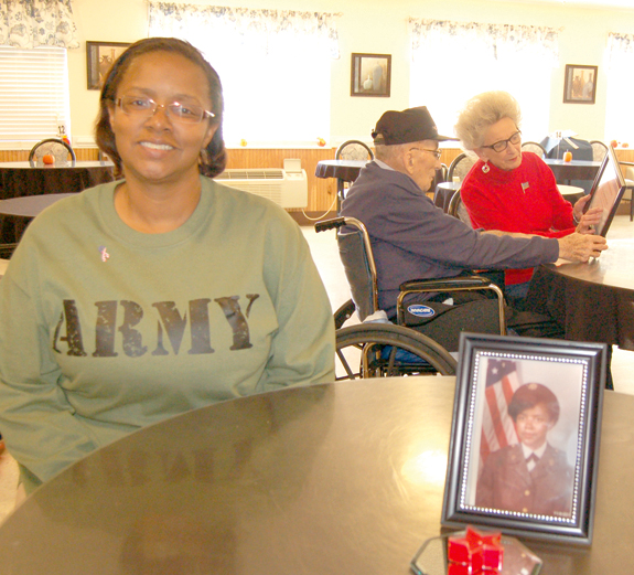<i>Nursing home salutes its vets</i>