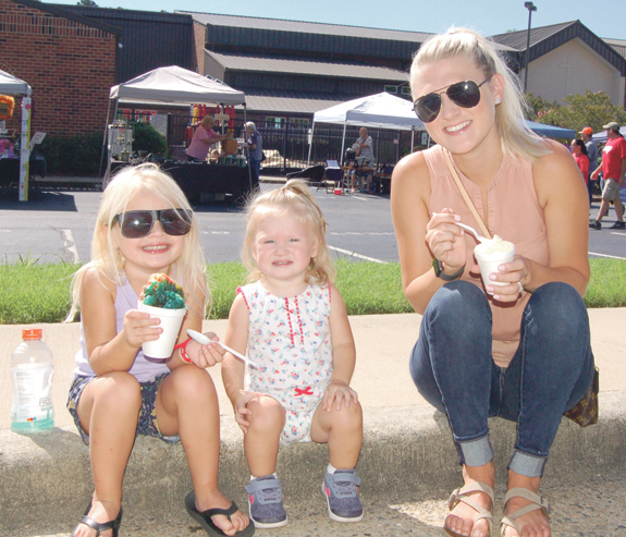 <i>Youngsville picks a perfect day for a festival</i>