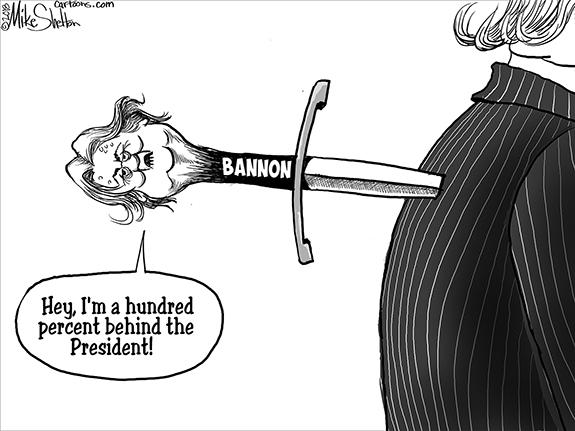 Editorial Cartoon: Bannon