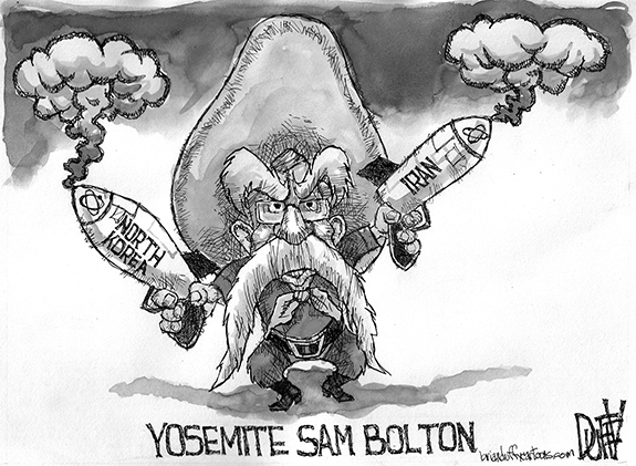 Editorial Cartoon: Bolton