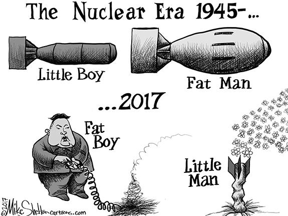 Editorial Cartoon: Bomb