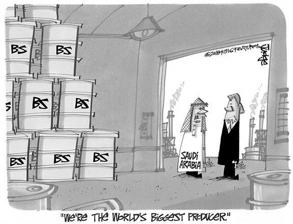 Editorial Cartoon: BS Producer