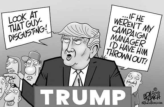 Editorial Cartoon: Campaign Manager