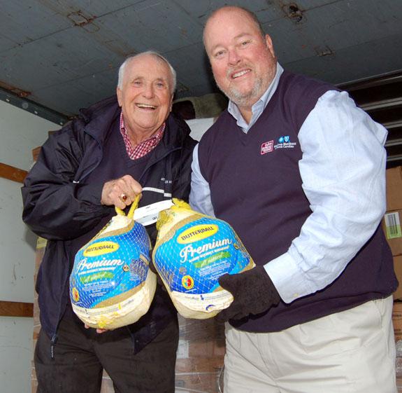 <i>Talkin' turkey and helping feed Franklin County</i>