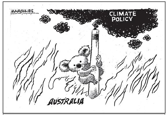 Editorial Cartoon: Climate