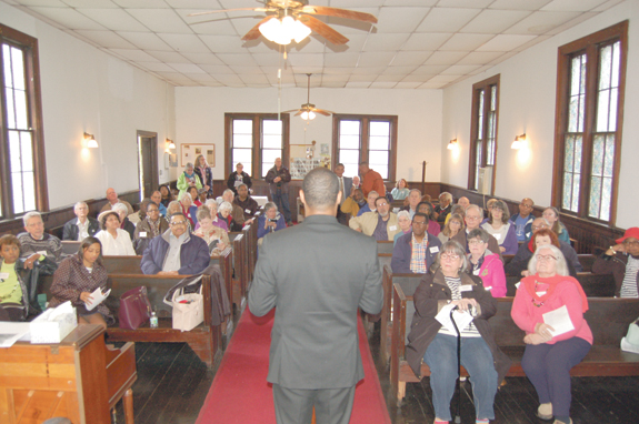 <i>Episcopal heritage tour visits Louisburg church</i>