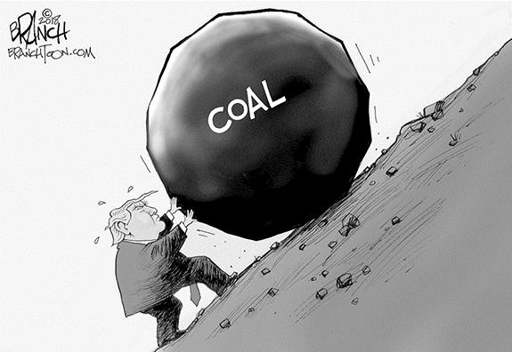 Editorial Cartoon: Coal