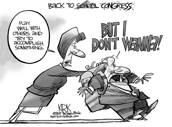 Editorial Cartoon: Congress