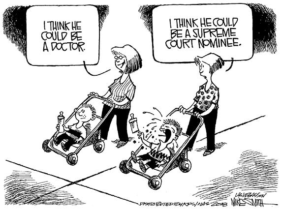 Editorial Cartoon: Court Nominee