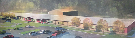 Permits clear way for new school