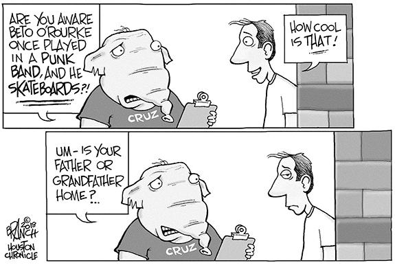 Editorial Cartoon: Cruz