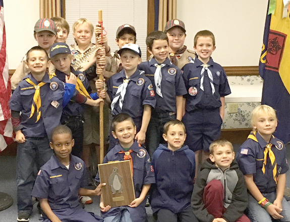 Local Scout Pack is 'golden'