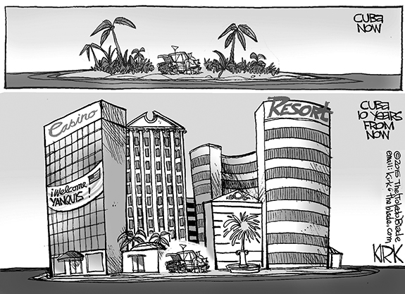Editorial Cartoon: Cuba