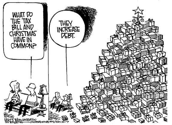 Editorial Cartoon: Debt Hike
