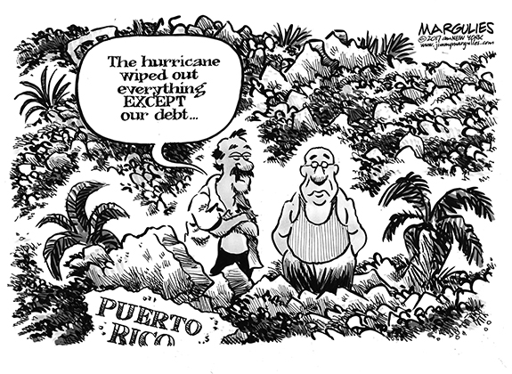 Editorial Cartoon: Debt Wipeout