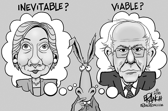 Editorial Cartoon: Dems Choices