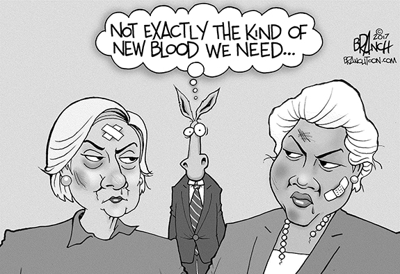 Editorial Cartoon: Dems New Blood