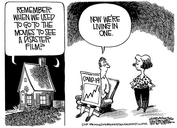 Editorial Cartoon: Disaster Film