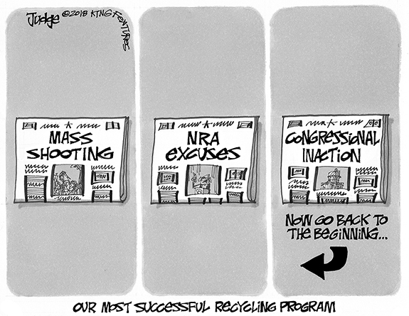 Editorial Cartoon: Do Nothing