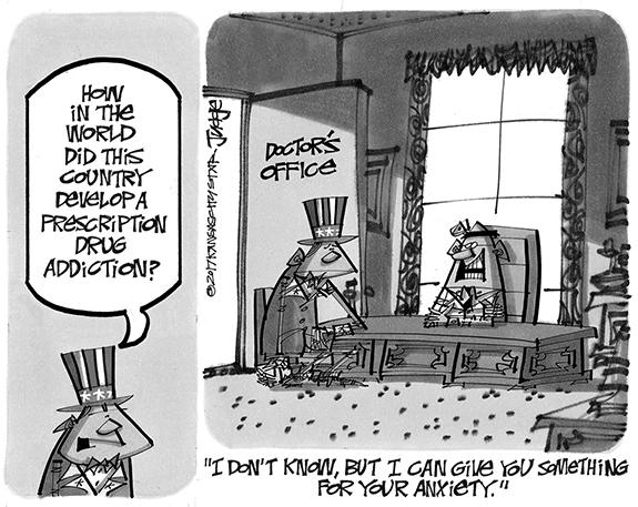 Editorial Cartoon: Drug Problem