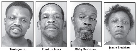 Four facing drug charges following Bunn-area raid