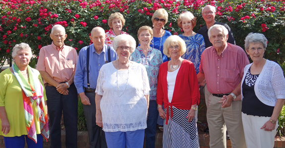 <i>Mills High Class of '57 gets together</i>